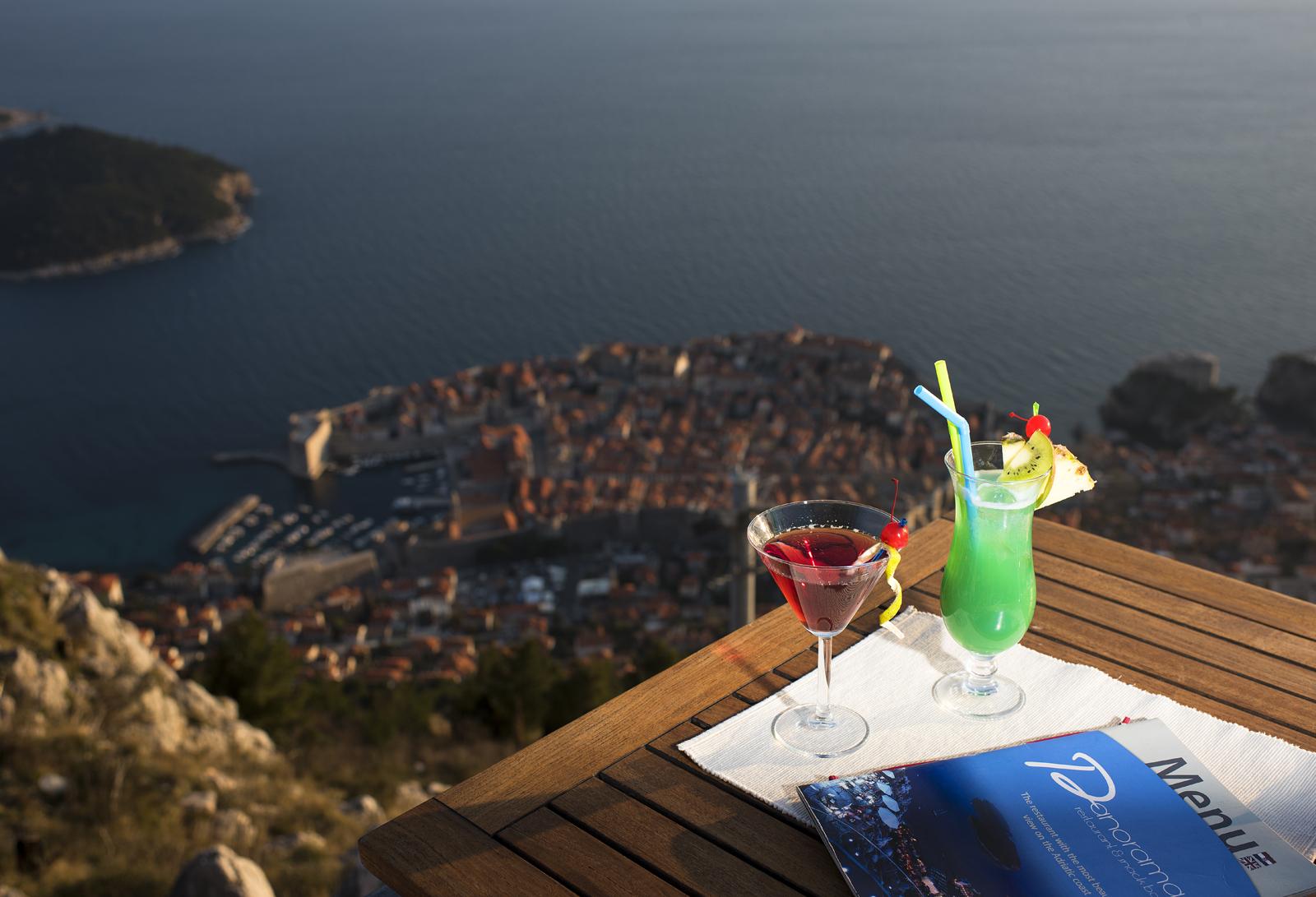 Dubrovnik. Il Ristorante Nautika. Ad un passo dal cielo e dal mare.