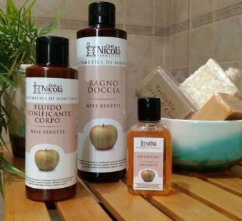 I prodotti alla Mela Renetta del Dott. Nicola